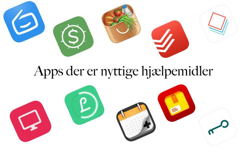 Digitale apps som hjælpemidler i hverdagen
